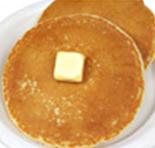 hot breakfast pancakes