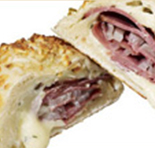 pastrami bake hot wraps